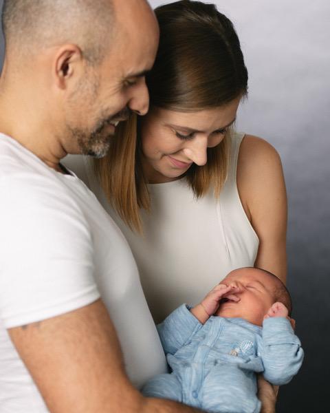 In Photo: Margaret, Adam Zargar and son Alexander