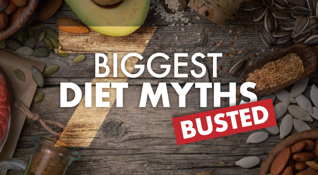Five Common Diet Myths